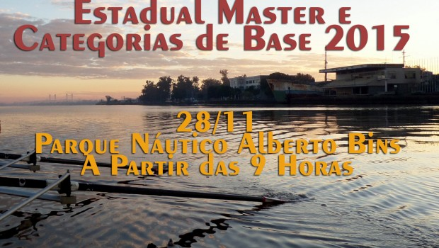 No sábado, 28 de novembro, será realizado no Parque Náutico do Estado o Estadual Master e Categorias de […]