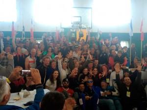 GPA comemora decacampeonato em Santa Fé (Foto: Jossiano Leal)