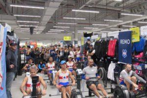 Competição foi acirrada nas dependências da Decathlon
